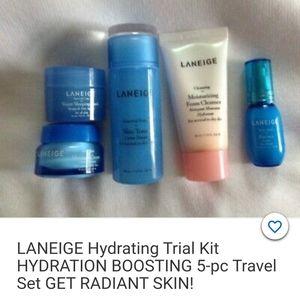 Laneige 5 piece Hydrating kit Brand NWOT